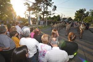 30 años de Malvinas Plaza Atahualpa